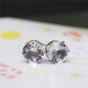 Stunning Austrian clear stud crystal earrings